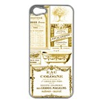 Parisgoldentower Apple iPhone 5 Case (Silver)
