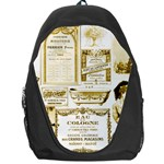 Parisgoldentower Backpack Bag