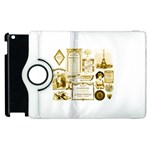 Parisgoldentower Apple iPad 2 Flip 360 Case