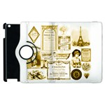 Parisgoldentower Apple iPad 3/4 Flip 360 Case