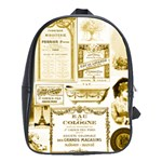 Parisgoldentower School Bag (XL)