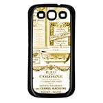 Parisgoldentower Samsung Galaxy S3 Back Case (Black)