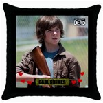 Pin The Walking Dead Wallpaper Hd Iphone On Pinterest Pinteresttail Donkey Game 29 Throw Pillow Case (Black)