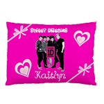 One Direction Pink Personalised Pillow Case