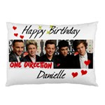 HAPPY BIRTHDAY  ONE DIRECTION Pillow Case