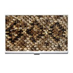 Snake Print	 Business Card Holder