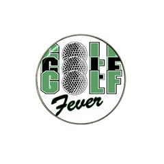 Golf Fever Hat Clip Ball Marker (4 pack) from ArtsNow.com Front