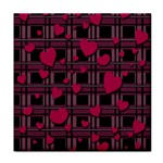 Harts pattern Tile Coasters