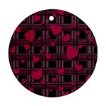 Harts pattern Ornament (Round)