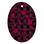 Harts pattern Ornament (Oval)