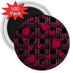 Harts pattern 3  Magnets (100 pack)