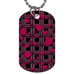 Harts pattern Dog Tag (One Side)