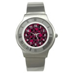 Harts pattern Stainless Steel Watch