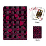 Harts pattern Playing Card