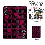 Harts pattern Playing Cards 54 Designs
