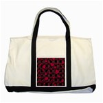 Harts pattern Two Tone Tote Bag