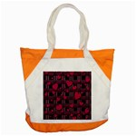 Harts pattern Accent Tote Bag