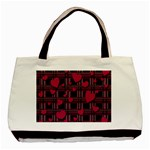 Harts pattern Basic Tote Bag (Two Sides)
