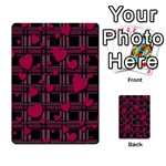Harts pattern Multi-purpose Cards (Rectangle)