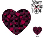 Harts pattern Multi-purpose Cards (Heart)