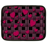 Harts pattern Netbook Case (Large)