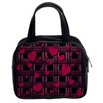 Harts pattern Classic Handbags (2 Sides)