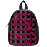 Harts pattern School Bags (Small)