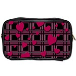 Harts pattern Toiletries Bags