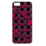 Harts pattern Apple Seamless iPhone 5 Case (Clear)