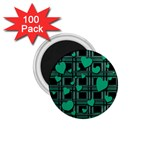 Green love 1.75  Magnets (100 pack)