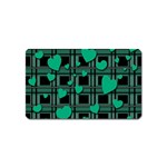 Green love Magnet (Name Card)