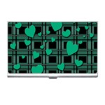 Green love Business Card Holders