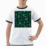 Green love Ringer T-Shirts