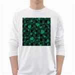 Green love White Long Sleeve T-Shirts