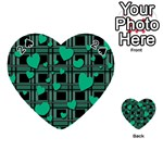 Green love Playing Cards 54 (Heart)