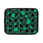 Green love Netbook Case (Small)