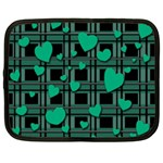 Green love Netbook Case (Large)