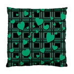 Green love Standard Cushion Case (One Side)