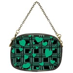 Green love Chain Purses (Two Sides)