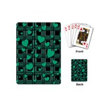 Green love Playing Cards (Mini)