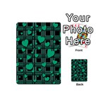 Green love Playing Cards 54 (Mini)  from ArtsNow.com Back