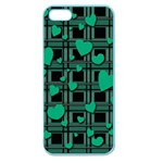 Green love Apple Seamless iPhone 5 Case (Color)