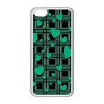 Green love Apple iPhone 5C Seamless Case (White)