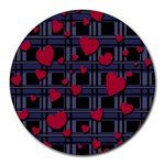 Decorative love Round Mousepads