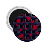 Decorative love 2.25  Magnets