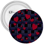 Decorative love 3  Buttons