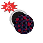 Decorative love 1.75  Magnets (100 pack)