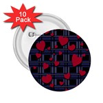 Decorative love 2.25  Buttons (10 pack)