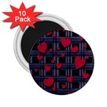 Decorative love 2.25  Magnets (10 pack)