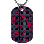 Decorative love Dog Tag (One Side)